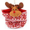 Fruits Container Candy Biscuit Elk Bear Pattern Bag - COLORMIX