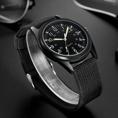 MG.ORKINA ORK081202 Cloth Band Men Quartz WatchMens Watches<br>MG.ORKINA ORK081202 Cloth Band Men Quartz Watch<br><br>Band material: Cloth<br>Band size: 25 x 2cm<br>Brand: MG.ORKINA<br>Case material: Alloy<br>Clasp type: Pin buckle<br>Dial size: 4.2 x 4.2 x 1.1cm<br>Display type: Analog<br>Movement type: Quartz watch<br>Package Contents: 1 x Watch<br>Package size (L x W x H): 27.00 x 6.20 x 3.10 cm / 10.63 x 2.44 x 1.22 inches<br>Package weight: 0.0800 kg<br>Product size (L x W x H): 25.00 x 4.20 x 1.10 cm / 9.84 x 1.65 x 0.43 inches<br>Product weight: 0.0600 kg<br>Shape of the dial: Round<br>Watch mirror: Acrylic<br>Watch style: Fashion<br>Watches categories: Men