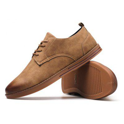 Male Retro Stylish Brush Color Casual Leather ShoesCasual Shoes<br>Male Retro Stylish Brush Color Casual Leather Shoes<br><br>Closure Type: Lace-Up<br>Contents: 1 x Pair of Shoes, 1 x Box, 1 x Piece of Dustproof Paper<br>Function: Slip Resistant<br>Materials: Rubber, PU<br>Occasion: Tea Party, Shopping, Office, Holiday, Dress, Daily, Casual, Party<br>Outsole Material: Rubber<br>Package Size ( L x W x H ): 33.00 x 24.00 x 13.00 cm / 12.99 x 9.45 x 5.12 inches<br>Package Weights: 0.80kg<br>Seasons: Autumn,Spring<br>Style: Modern, Leisure, Fashion, Comfortable, Casual, Business<br>Toe Shape: Round Toe<br>Type: Casual Leather Shoes<br>Upper Material: PU