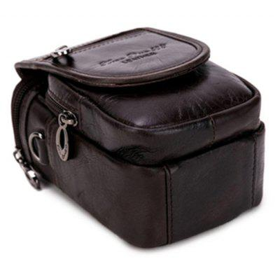 Retro Style Men Genuine Leather Zipper Waist BagCrossbody Bags<br>Retro Style Men Genuine Leather Zipper Waist Bag<br><br>Features: Wearable<br>Gender: Men<br>Material: Genuine Leather<br>Package Size(L x W x H): 25.00 x 10.00 x 5.00 cm / 9.84 x 3.94 x 1.97 inches<br>Package weight: 0.2500 kg<br>Packing List: 1 x Bag<br>Product Size(L x W x H): 14.00 x 9.00 x 7.00 cm / 5.51 x 3.54 x 2.76 inches<br>Product weight: 0.2000 kg<br>Style: Fashion<br>Type: Zipper, Wallet