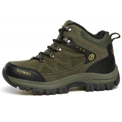 Men Warm Anti-skidding Durable Hiking ShoesAthletic Shoes<br>Men Warm Anti-skidding Durable Hiking Shoes<br><br>Closure Type: Lace-Up<br>Contents: 1 x Pair of Shoes<br>Function: Puncture Resistant, Slip Resistant<br>Materials: Plush, Rubber, Suede<br>Occasion: Sports, Outdoor Clothing<br>Package Size ( L x W x H ): 33.00 x 22.00 x 11.00 cm / 12.99 x 8.66 x 4.33 inches<br>Package Weights: 0.9500kg<br>Product Size  ( L x W x H ): 33.00 x 22.00 x 11.00 cm / 12.99 x 8.66 x 4.33 inches<br>Product Weights: 0.8000kg<br>Seasons: Winter<br>Style: Comfortable<br>Toe Shape: Round Toe<br>Type: Hiking Shoes<br>Upper Material: Suede