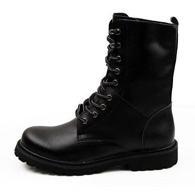 Men Classic Stylish Leather High Marten BootsMens Boots<br>Men Classic Stylish Leather High Marten Boots<br><br>Closure Type: Lace-Up<br>Contents: 1 x Pair of Boots<br>Materials: Leather, Rubber<br>Occasion: Daily, Holiday<br>Outsole Material: Rubber<br>Package Size ( L x W x H ): 33.00 x 24.00 x 13.00 cm / 12.99 x 9.45 x 5.12 inches<br>Package Weights: 1.1000kg<br>Pattern Type: Solid<br>Product Weights: 0.9000kg<br>Seasons: Autumn,Spring,Winter<br>Style: Leisure, Fashion, Comfortable<br>Toe Shape: Round Toe<br>Type: Boots<br>Upper Material: Leather