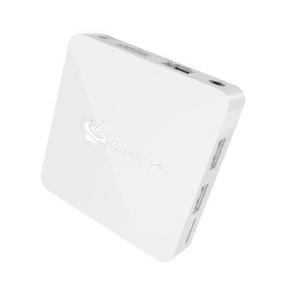 Beelink A1 TV BoxTV Box<br>Beelink A1 TV Box<br><br>Bluetooth: Bluetooth4.0<br>Brand: Beelink<br>Core: Quad Core<br>CPU: ARM Cortex-A53<br>Decoder Format: H.265<br>GPU: Mali-450MP2<br>HDMI Version: 2.0<br>Interface: AV, DC Power Port, HDMI, RJ45, TF card, USB2.0, USB3.0<br>Maximum External Hard Drives Capacity: 4TB<br>Model: A1<br>Package Contents: 1 x TV Box, 1 x Power Adapter, 1 x HDMI Cable, 1 x English User Manual<br>Package size (L x W x H): 18.80 x 13.55 x 5.75 cm / 7.4 x 5.33 x 2.26 inches<br>Package weight: 0.3660 kg<br>Power Supply: Charge Adapter<br>Power Type: External Power Adapter Mode<br>Processor: RK3328<br>Product size (L x W x H): 7.70 x 7.70 x 1.70 cm / 3.03 x 3.03 x 0.67 inches<br>Product weight: 0.0950 kg<br>RAM: 4G RAM<br>RAM Type: DDR3<br>ROM: 16G ROM<br>Suggest Input: 5V 2A<br>System: Android 7.1<br>Type: TV Box<br>Video format: MPEG1, 1080P, 4K x 2K, H.264, VP9, VC-1, H.265, MPEG2, MPEG4