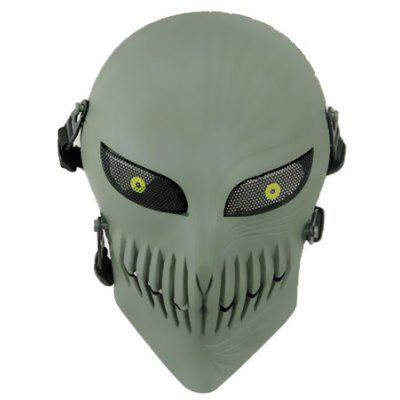 Skull Shape Protective Cycling Full-face Mask