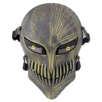 Skull Shape Tactical Protective Cycling Full-Face Mask