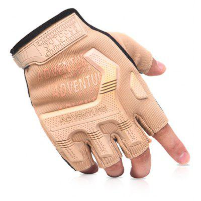 Tactical Anti-slip Half-finger Gloves for Outdoor Sports