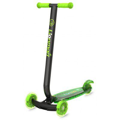 Foldable Flat-plate Scooter with Flashing Pedal for Kids