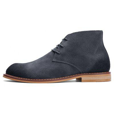Men Casual Retro Suede Ankle Desert BootsMens Boots<br>Men Casual Retro Suede Ankle Desert Boots<br><br>Closure Type: Lace-Up<br>Contents: 1 x Pair of Boots<br>Materials: Rubber, Suede<br>Occasion: Casual<br>Outsole Material: Rubber<br>Package Size ( L x W x H ): 33.00 x 24.00 x 13.00 cm / 12.99 x 9.45 x 5.12 inches<br>Package Weights: 1.1000kg<br>Pattern Type: Solid<br>Product Weights: 0.9000kg<br>Seasons: Autumn,Spring<br>Style: Leisure, Fashion, Casual<br>Type: Boots<br>Upper Material: Suede