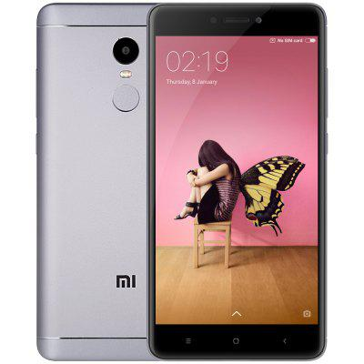 Xiaomi Redmi Note 4 3GB RAM 4G Phablet  -  GLOBAL VERSION  GRAY 32Go (entrepôt EU-6)