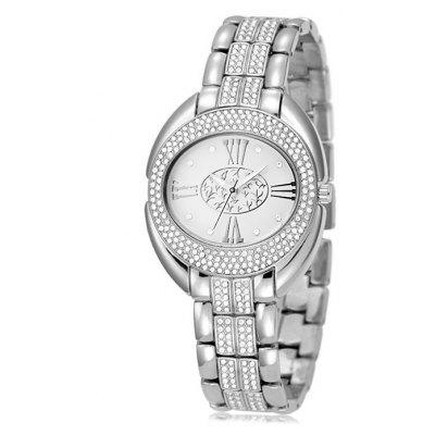 BELBI 9131 Trendy Women Steel Band Quartz Watch