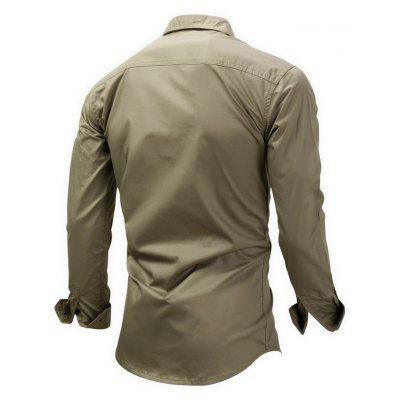 FREDD MARSHALL Outdoor Regular Fit ShirtMens Shirts<br>FREDD MARSHALL Outdoor Regular Fit Shirt<br><br>Brand: FREDD MARSHALL<br>Material: Cotton<br>Package Contents: 1 x Shirt<br>Package size: 30.00 x 30.00 x 2.00 cm / 11.81 x 11.81 x 0.79 inches<br>Package weight: 0.3000 kg<br>Product weight: 0.2800 kg