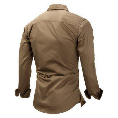 FREDD MARSHALL Casual Outdoor Regular Fit ShirtMens Shirts<br>FREDD MARSHALL Casual Outdoor Regular Fit Shirt<br><br>Brand: FREDD MARSHALL<br>Material: Cotton<br>Package Contents: 1 x Shirt<br>Package size: 30.00 x 30.00 x 2.00 cm / 11.81 x 11.81 x 0.79 inches<br>Package weight: 0.3000 kg<br>Product weight: 0.2800 kg