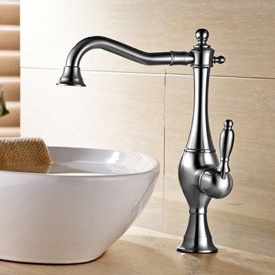 LING HAO HL - 120 Centerset Waterfall Bathroom Sink Faucet