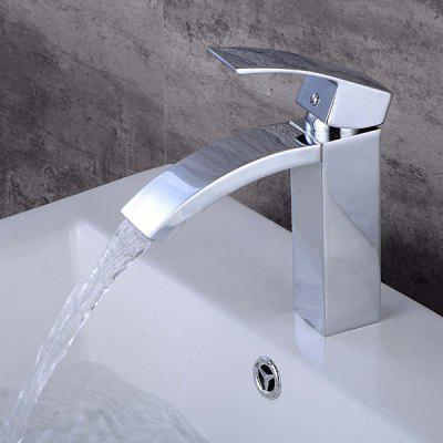 LING HAO HL - 867 Waterfall Bathroom Sink Faucet