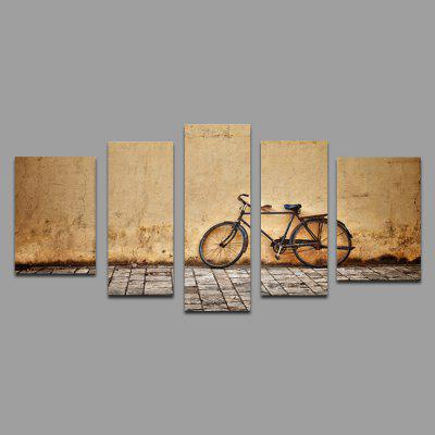 JOY ART Stretched Canvas Print Bike Wall Modern Artwork for Decoration Ready to Hang