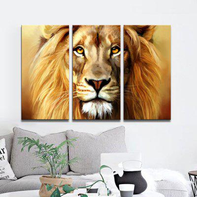 JOY ART Canvas Print Modern Stretched Lion Pattern 3PCSPrints<br>JOY ART Canvas Print Modern Stretched Lion Pattern 3PCS<br><br>Brand: JOY ART<br>Craft: Print<br>Form: Three Panels<br>Material: Canvas<br>Package Contents: 3 x Print<br>Package size (L x W x H): 62.00 x 8.00 x 32.00 cm / 24.41 x 3.15 x 12.6 inches<br>Package weight: 1.7000 kg<br>Painting: Include Inner Frame<br>Product weight: 1.3000 kg<br>Shape: Horizontal Panoramic<br>Style: Lion, Animal<br>Subjects: Animal<br>Suitable Space: Dining Room,Hallway,Hotel,Living Room,Office