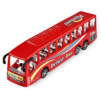 Simulation Solid Color Seat Inertia Bus Toy for Kids