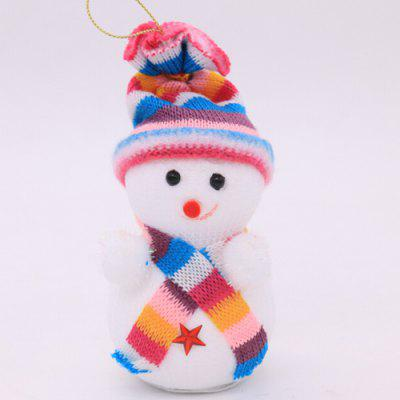 Christmas Decorative Snowman Pattern Ornaments 2pcsChristmas Supplies<br>Christmas Decorative Snowman Pattern Ornaments 2pcs<br><br>For: Friends, Kids<br>Package Contents: 1 x Doll Ornament<br>Package size (L x W x H): 8.00 x 8.00 x 14.00 cm / 3.15 x 3.15 x 5.51 inches<br>Package weight: 0.0170 kg<br>Product size (L x W x H): 7.00 x 7.00 x 13.00 cm / 2.76 x 2.76 x 5.12 inches<br>Product weight: 0.0160 kg<br>Usage: Christmas
