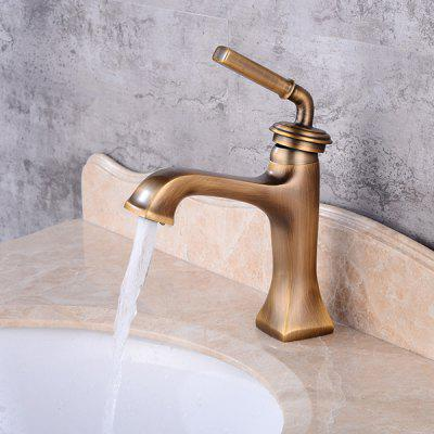 LINGHAO HL - 246 Pure Brass Bathroom Basin Faucet