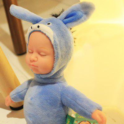Plush Stuffed Doll Toy Cute Baby with Donkey Pattern ClothStuffed Cartoon Toys<br>Plush Stuffed Doll Toy Cute Baby with Donkey Pattern Cloth<br><br>Features: Stuffed and Plush<br>Materials: Cloth<br>Package Contents: 1 x Doll<br>Package size: 10.00 x 10.00 x 20.00 cm / 3.94 x 3.94 x 7.87 inches<br>Package weight: 0.1700 kg<br>Product size: 9.00 x 9.00 x 23.00 cm / 3.54 x 3.54 x 9.06 inches<br>Product weight: 0.1100 kg<br>Series: Fashion<br>Theme: Baby Doll