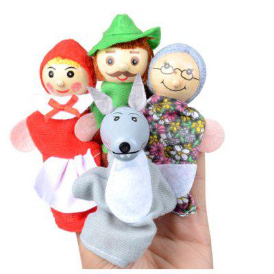 Buy COLORMIX Fingerlings Finger Puppet with Lovely Cartoon Character Image 4PCS for $4.62 in GearBest store