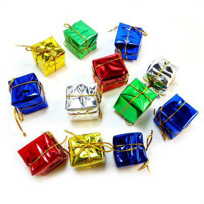 Christmas Small Gift Box Colorful Tree Pendant 12PCSChristmas Supplies<br>Christmas Small Gift Box Colorful Tree Pendant 12PCS<br><br>For: All, Kids<br>Material: Plastic<br>Package Contents: 12 x Gift Box<br>Package Quantity: 12<br>Package size (L x W x H): 8.00 x 8.00 x 5.00 cm / 3.15 x 3.15 x 1.97 inches<br>Package weight: 0.1400 kg<br>Product size (L x W x H): 2.00 x 2.00 x 2.00 cm / 0.79 x 0.79 x 0.79 inches<br>Product weight: 0.1200 kg<br>Usage: Christmas