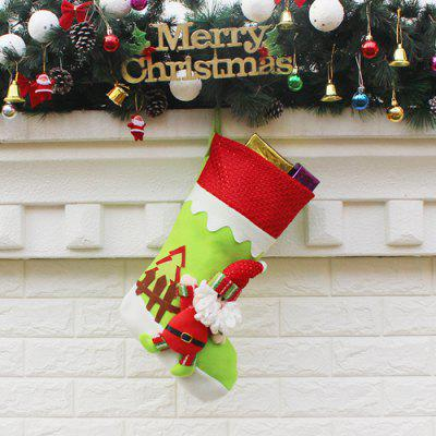 Cute Santa Claus Design Sock Shape Christmas OrnamentChristmas Supplies<br>Cute Santa Claus Design Sock Shape Christmas Ornament<br><br>For: All<br>Material: Nonwoven<br>Package Contents: 1 x Christmas Decoration<br>Package size (L x W x H): 22.50 x 26.50 x 2.00 cm / 8.86 x 10.43 x 0.79 inches<br>Package weight: 0.1200 kg<br>Product weight: 0.1000 kg<br>Usage: Christmas