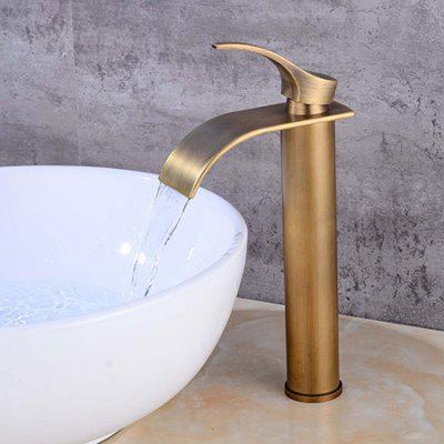 LING HAO HL - 341 Single Handle Waterfall Bathroom Faucet