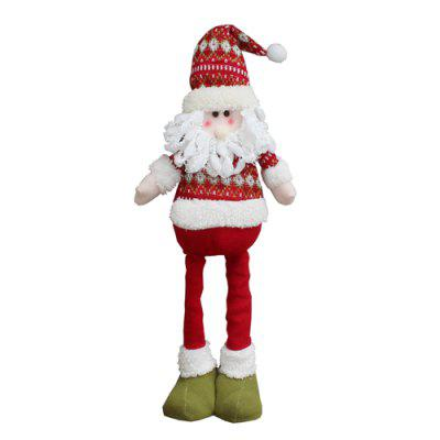 Adjustable Santa Claus Toy Christmas DecorationChristmas Supplies<br>Adjustable Santa Claus Toy Christmas Decoration<br><br>For: All<br>Package Contents: 1 x Christmas Decoration<br>Package size (L x W x H): 12.00 x 12.00 x 33.00 cm / 4.72 x 4.72 x 12.99 inches<br>Package weight: 0.2200 kg<br>Product weight: 0.2000 kg<br>Usage: Christmas