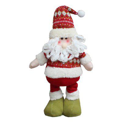 adjustable santa claus toy christmas decoration - Santa Claus Christmas Decorations