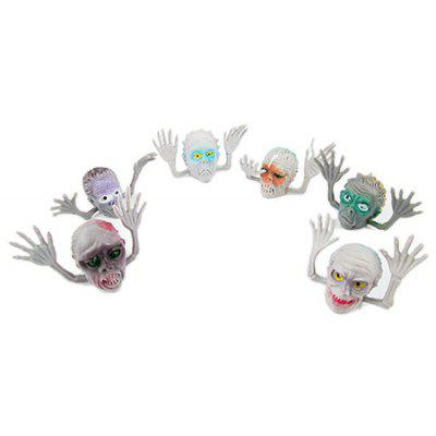 Buy COLORMIX Fingerlings Cool Style PVC Finger Puppet 6PCS for $3.02 in GearBest store