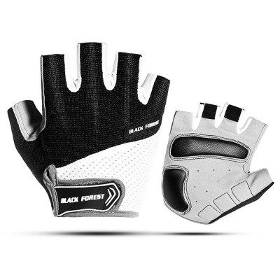 Male Breathable Durable Sports Half-finger Gloves