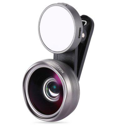 Martube Marspace Phone Lens KitPhone Lenses<br>Martube Marspace Phone Lens Kit<br><br>Brand: Martube<br>Lens type: Macro Lens,Wide-Angle-Lens<br>Magnification ?Macro Lens ): 10X<br>Magnification ?Wide Angle Lens ): 0.45X<br>Material: Optical glass, Metal<br>Package Contents: 1 x Wide Angle Macro Lens, 1 x LED Fill Light, 1 x USB Cable, 1 x Cleaning Cloth, 2 x Lens Cap, 1 x Clamp, 1 x English / Chinese Manual<br>Package size (L x W x H): 17.30 x 10.40 x 5.60 cm / 6.81 x 4.09 x 2.2 inches<br>Package weight: 0.1450 kg<br>Product size (L x W x H): 4.20 x 4.20 x 2.20 cm / 1.65 x 1.65 x 0.87 inches<br>Product weight: 0.0660 kg