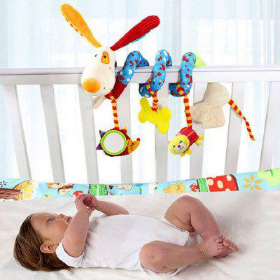 Dog Style Spiral Toy Set for BabyPuppets<br>Dog Style Spiral Toy Set for Baby<br><br>Materials: Plush<br>Package Contents: 1 x Set of Spiral Toys<br>Package size: 35.00 x 20.00 x 15.00 cm / 13.78 x 7.87 x 5.91 inches<br>Package weight: 0.3000 kg<br>Product size: 21.00 x 10.00 x 5.00 cm / 8.27 x 3.94 x 1.97 inches<br>Product weight: 0.2000 kg<br>Prototype of Character: Other<br>Series: Entertainment,Fashion,Lifestyle<br>Theme: Cartoon