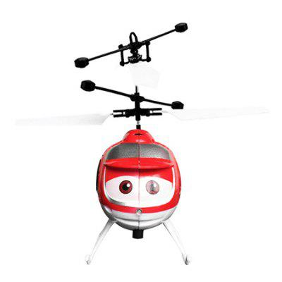 Hand Induction Suspension Helicopter with SensorNovelty Toys<br>Hand Induction Suspension Helicopter with Sensor<br><br>Features: Battery Operated, Creative Toy, Electronic<br>Materials: ABS, Metal<br>Package Contents: 1 x Induction Helicopter, 1 x USB Cable<br>Package size: 16.10 x 5.40 x 19.00 cm / 6.34 x 2.13 x 7.48 inches<br>Package weight: 0.1700 kg<br>Product size: 10.00 x 4.60 x 12.00 cm / 3.94 x 1.81 x 4.72 inches<br>Product weight: 0.1500 kg<br>Series: Entertainment<br>Theme: Sports