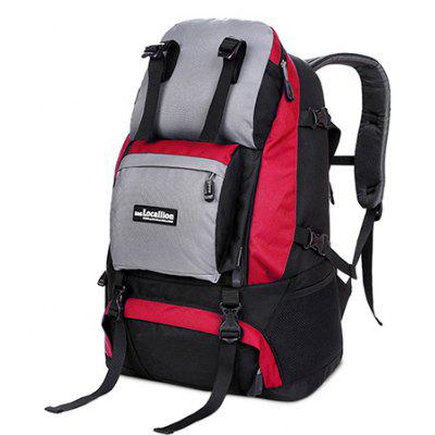 Buy RED Outdoor Chic Durable Large Capacity Travel Backpack for $42.91 in GearBest store