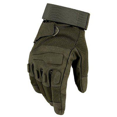Masculino Outdoor Anti Slip Military Tactical Hard Knuckle Luvas