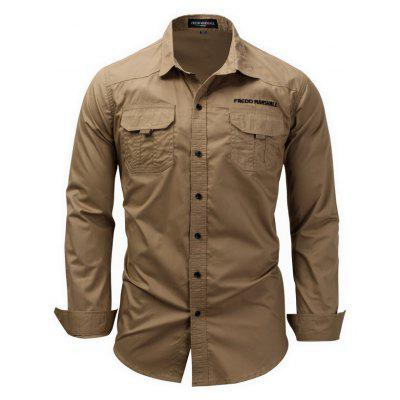 FREDD MARSHALL Casual Outdoor Regular Fit Shirt