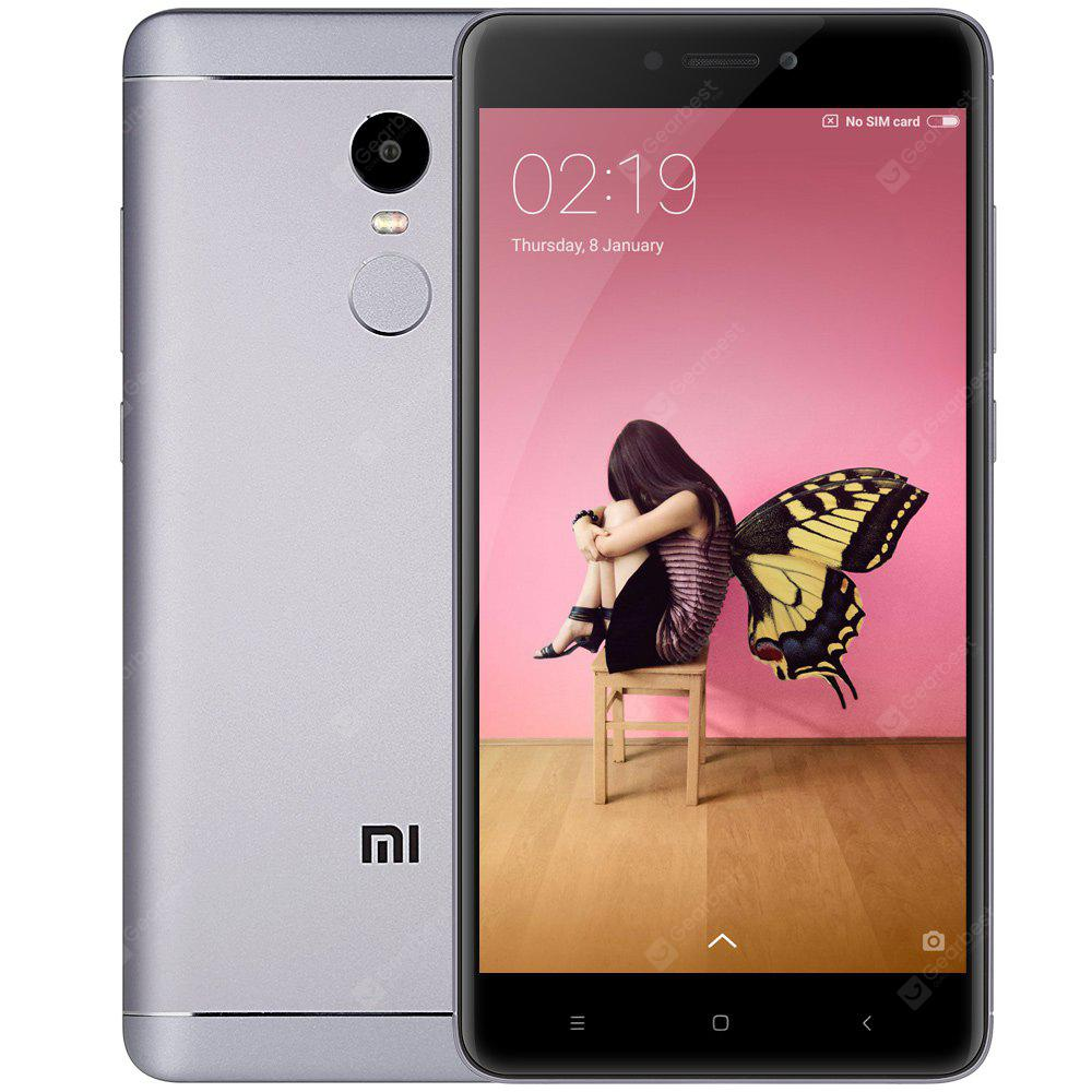 Xiaomi Redmi Note 4 3GB RAM 4G Phablet - GLOBAL VERSION GRAY