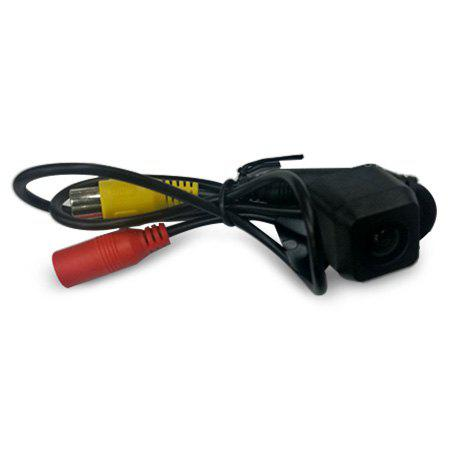 BLACK HD CCD LED Universal Adjustable Car Rear View Camera