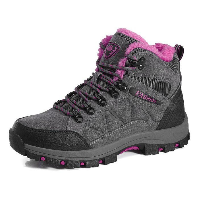 DEEP GRAY 40 Female Durable Soft Outdoor Warm Hiking Sneakers