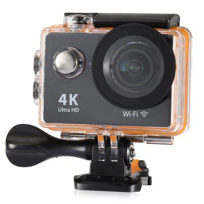 H9R 170 Degree Wide Angle 4K Ultra HD WiFi Action Camera – EU PLUG BLACK