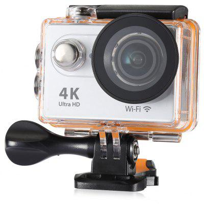 Buy SILVER H9R 170 Degree Wide Angle 4K Ultra HD WiFi Action Camera for $61.54 in GearBest store