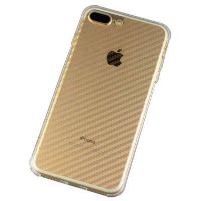 Slim TPU PC Phone Case for iPhone 8 Plus Anti-drop Cover