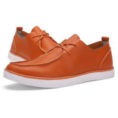 Male Nostalgic Soft Contrasting Line Casual Leather ShoesCasual Shoes<br>Male Nostalgic Soft Contrasting Line Casual Leather Shoes<br><br>Closure Type: Lace-Up<br>Contents: 1 x Pair of Shoes, 1 x Box<br>Function: Slip Resistant<br>Materials: Rubber, Microfiber Leather<br>Occasion: Tea Party, Sports, Shopping, Riding, Outdoor Clothing, Party, Casual, Daily, Holiday, Office<br>Outsole Material: Rubber<br>Package Size ( L x W x H ): 30.00 x 18.00 x 12.00 cm / 11.81 x 7.09 x 4.72 inches<br>Package Weights: 0.80kg<br>Pattern Type: Solid<br>Seasons: Autumn,Spring<br>Style: Modern, Leisure, Fashion, Comfortable, Casual<br>Toe Shape: Round Toe<br>Type: Casual Leather Shoes<br>Upper Material: Microfiber Leather