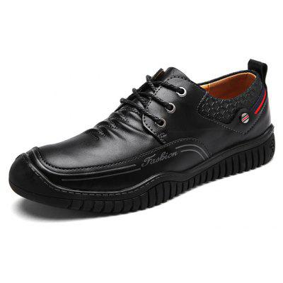 Male Stylish Unique Wrinkle Leather Casual Oxford ShoesMen's Oxford<br>Male Stylish Unique Wrinkle Leather Casual Oxford Shoes<br><br>Closure Type: Lace-Up<br>Contents: 1 x Pair of Shoes, 1 x Box, 1 x Piece of Dustproof Paper<br>Decoration: Stripe<br>Function: Slip Resistant<br>Materials: Rubber, Leather<br>Occasion: Tea Party, Shopping, Party, Office, Formal, Outdoor Clothing, Casual, Daily, Dress<br>Outsole Material: Rubber<br>Package Size ( L x W x H ): 33.00 x 24.00 x 13.00 cm / 12.99 x 9.45 x 5.12 inches<br>Package Weights: 1.00kg<br>Pattern Type: Stripe, Solid<br>Seasons: Autumn,Spring<br>Style: Modern, Leisure, Formal, Fashion, Comfortable, Casual, Business<br>Toe Shape: Round Toe<br>Type: Casual Leather Shoes<br>Upper Material: Leather