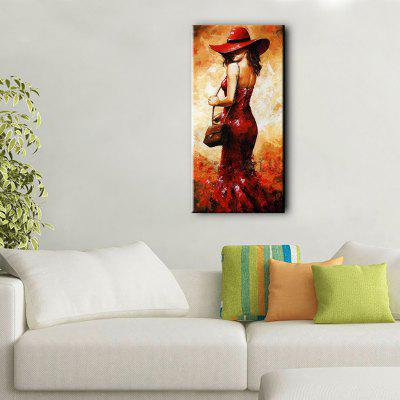 YHHP Hand Painted Oil Painting Enchanting Woman Wall ArtOil Paintings<br>YHHP Hand Painted Oil Painting Enchanting Woman Wall Art<br><br>Brand: YHHP<br>Craft: Oil Painting<br>Form: One Panel<br>Material: Canvas<br>Package Contents: 1 x Oil Painting<br>Package size (L x W x H): 62.00 x 5.00 x 5.00 cm / 24.41 x 1.97 x 1.97 inches<br>Package weight: 0.3000 kg<br>Painting: Without Inner Frame<br>Product weight: 0.2000 kg<br>Shape: Vertical<br>Style: Modern<br>Subjects: Figure Painting<br>Suitable Space: Living Room