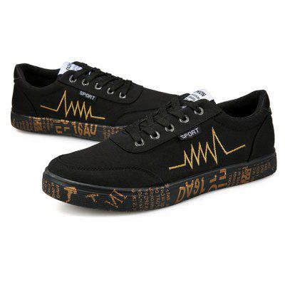 Male British Soft ECG Pattern Casual PU Leather ShoesCasual Shoes<br>Male British Soft ECG Pattern Casual PU Leather Shoes<br><br>Closure Type: Lace-Up<br>Contents: 1 x Pair of Shoes<br>Function: Slip Resistant<br>Materials: PU, Rubber<br>Occasion: Running, Shopping, Sports, Tea Party, Riding, Rainy Day, Casual, Daily, Holiday, Outdoor Clothing, Party<br>Outsole Material: Rubber<br>Package Size ( L x W x H ): 25.00 x 18.00 x 10.00 cm / 9.84 x 7.09 x 3.94 inches<br>Package Weights: 0.82kg<br>Pattern Type: Letter<br>Seasons: Autumn,Spring<br>Style: Modern, Leisure, Fashion, Comfortable, Casual<br>Toe Shape: Round Toe<br>Type: Casual Leather Shoes<br>Upper Material: PU