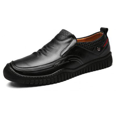 Male Soft Breathable Wrinkle Casual Oxford ShoesMen's Oxford<br>Male Soft Breathable Wrinkle Casual Oxford Shoes<br><br>Closure Type: Slip-On<br>Contents: 1 x Pair of Shoes, 1 x Box, 1 x Piece of Dustproof Paper<br>Decoration: Stripe<br>Function: Slip Resistant<br>Materials: Rubber, Leather<br>Occasion: Tea Party, Shopping, Party, Office, Holiday, Outdoor Clothing, Casual, Daily, Dress<br>Outsole Material: Rubber<br>Package Size ( L x W x H ): 33.00 x 24.00 x 13.00 cm / 12.99 x 9.45 x 5.12 inches<br>Package Weights: 1.00kg<br>Pattern Type: Stripe, Solid<br>Seasons: Autumn,Spring<br>Style: Modern, Leisure, Fashion, Comfortable, Casual<br>Toe Shape: Round Toe<br>Type: Casual Leather Shoes<br>Upper Material: Leather