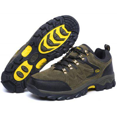 Men Outdoor Slip Resistant Durable Athletic ShoesAthletic Shoes<br>Men Outdoor Slip Resistant Durable Athletic Shoes<br><br>Closure Type: Lace-Up<br>Contents: 1 x Pair of Shoes<br>Function: Slip Resistant<br>Materials: Suede, Rubber<br>Occasion: Sports<br>Outsole Material: Rubber<br>Package Size ( L x W x H ): 33.00 x 22.00 x 11.00 cm / 12.99 x 8.66 x 4.33 inches<br>Package Weights: 0.9500kg<br>Product Weights: 0.8000kg<br>Seasons: Autumn,Spring,Winter<br>Toe Shape: Round Toe<br>Type: Hiking Shoes<br>Upper Material: Suede